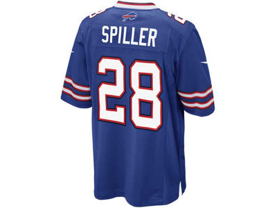 Buffalo Bills C.J. Spiller Nike NFL Men's Game Jersey