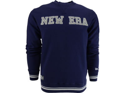 New Era Branded Applique Crewneck