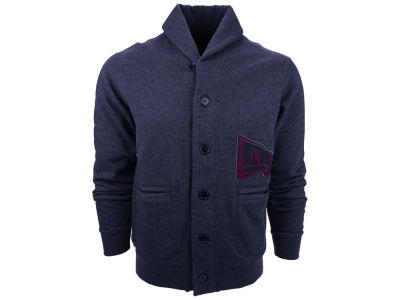New Era Branded Shawl Neck Cardigan