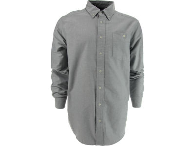 New Era Branded Long Sleeve Oxford Shirt