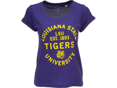 LSU Tigers NCAA Womens Anna T-Shirt
