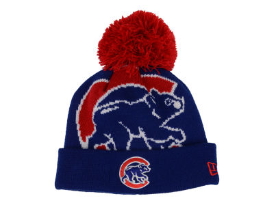 Chicago Cubs New Era MLB Junior Woven Biggie Knit
