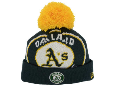 Oakland Athletics New Era MLB Junior Woven Biggie Knit