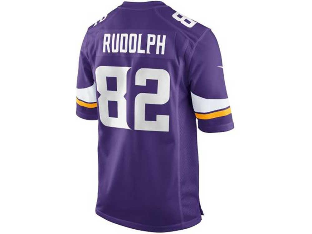 Minnesota Vikings Kyle Rudolph Nike NFL Men s Game Jersey  afe73e23d
