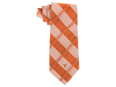 Texas Longhorns Necktie Woven Poly Plaid