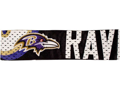 Baltimore Ravens Fan Band Headband