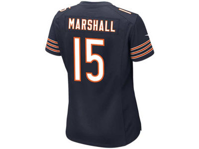 Chicago Bears Brandon Marshall Nike NFL Women's Game Jersey