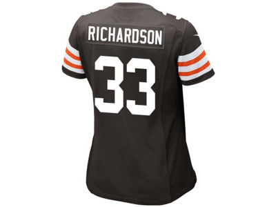 Cleveland Browns Trent Richardson Nike NFL Women's Game Jersey
