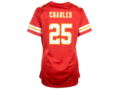 Kansas City Chiefs Jamaal Charles Nike NFL Women's Game Jersey