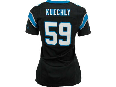 Carolina Panthers Luke Kuechly Nike NFL Women's Game Jersey