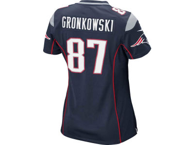 New England Patriots Rob Gronkowski Nike NFL Women's Game Jersey