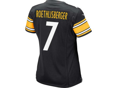 Pittsburgh Steelers Ben Roethlisberger Nike NFL Women's Game Jersey