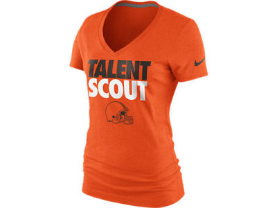 Cleveland Browns Nike NFL Womens Talent Scout T-Shirt