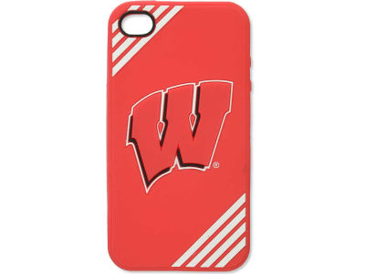 Wisconsin Badgers IPhone 4 Case Silicone Logo