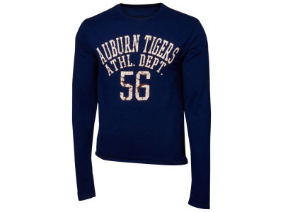 Auburn Tigers Blue 84 NCAA Walkover Long Sleeve Slub T-Shirt
