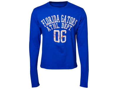 Florida Gators Blue 84 NCAA Walkover Long Sleeve Slub T-Shirt