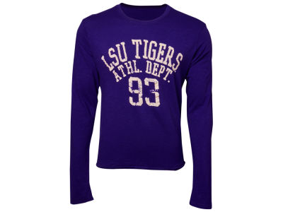 LSU Tigers Blue 84 NCAA Walkover Long Sleeve Slub T-Shirt