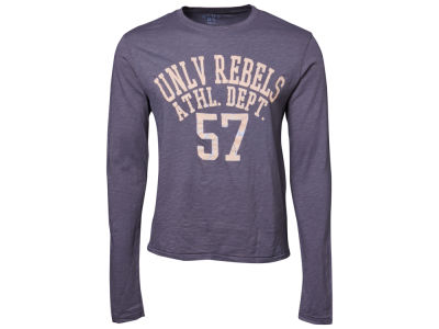 UNLV Runnin Rebels Blue 84 NCAA Walkover Long Sleeve Slub T-Shirt