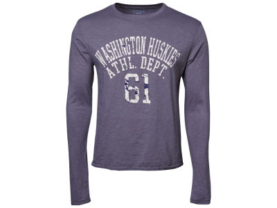 Washington Huskies Blue 84 NCAA Walkover Long Sleeve Slub T-Shirt
