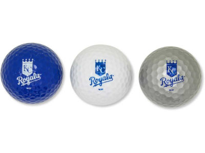 Kansas City Royals 3-pack Golf Ball Set