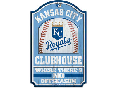 Kansas City Royals 11x17 Wood Sign