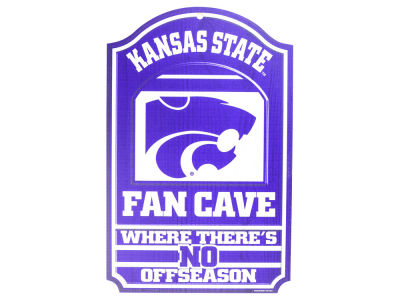 Kansas State Wildcats 11x17 Wood Sign