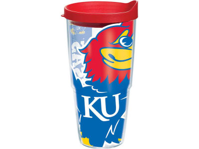 Kansas Jayhawks 24oz. Colossal Wrap Tumbler