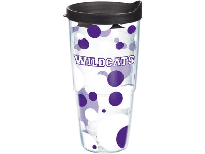 Kansas State Wildcats 24oz. Polka Dot Tumbler With Lid