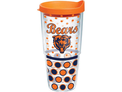 Chicago Bears 24oz. Polka Dot Tumbler With Lid