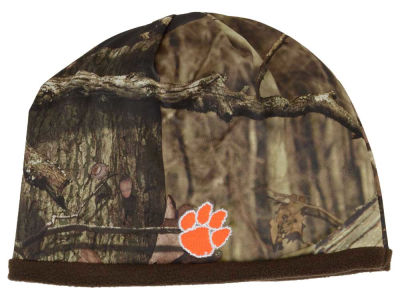 Clemson Tigers Top of the World NCAA Scout Camo Reversible Hat