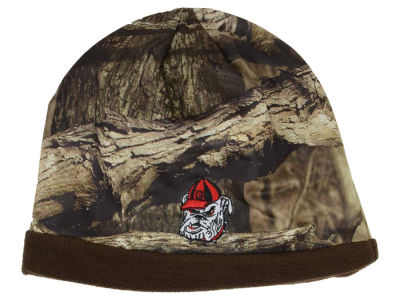 Georgia Bulldogs Top of the World NCAA Scout Camo Reversible Hat