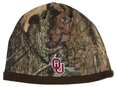 Oklahoma Sooners Top of the World NCAA Scout Camo Reversible Hat