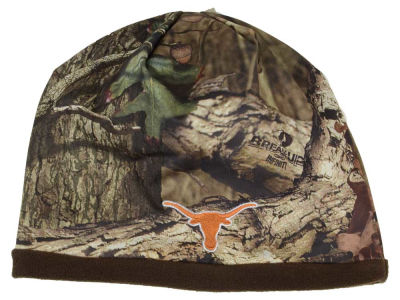 Texas Longhorns Top of the World NCAA Scout Camo Reversible Hat