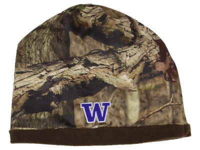 Washington Huskies Top of the World NCAA Scout Camo Reversible Hat