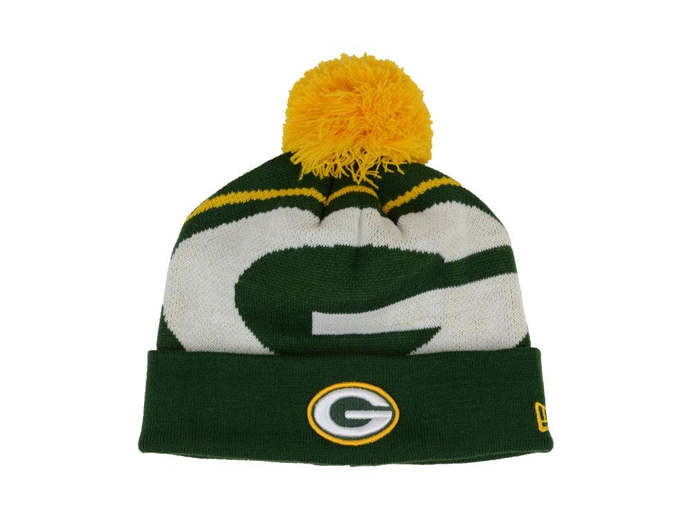 427367fb1c7 Green Bay Packers New Era NFL 2013 Woven Biggie Knit