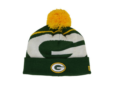 Green Bay Packers New Era NFL 2013 Woven Biggie Knit