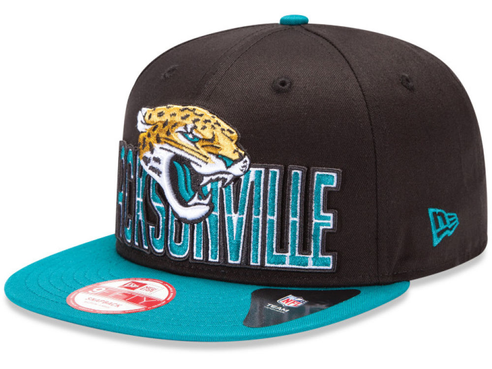 6b7d7d09fff Jacksonville Jaguars New Era NFL 2013 Draft 9FIFTY Snapback Cap ...