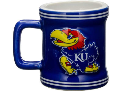 Kansas Jayhawks 2oz Mini Mug Shot