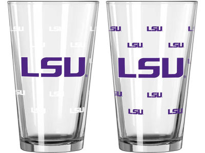LSU Tigers 16oz Color Changing Pint Glass