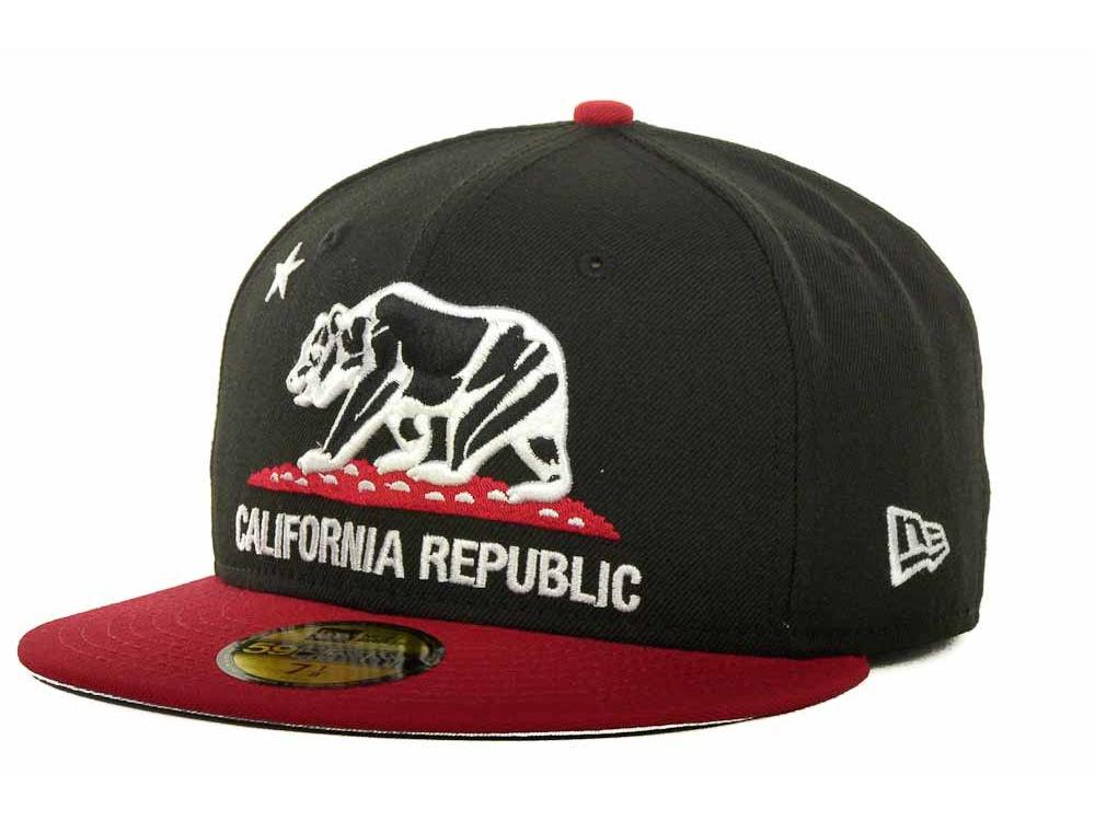 New Era California Republic 59FIFTY Cap  54eb1d4c8d71