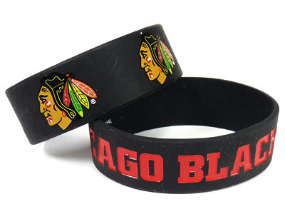 Chicago Blackhawks 2-pack Wide Bracelet