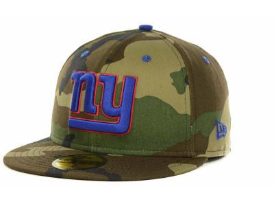New York Giants New Era NFL Camo Pop 59FIFTY Cap