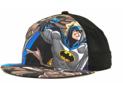 Batman DC Comics Boys Character Sublimated Youth Snapback Cap
