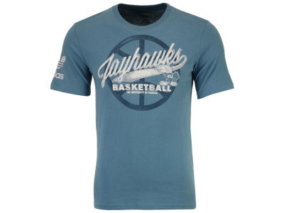 Kansas Jayhawks adidas NCAA Smooth Finish T-Shirt