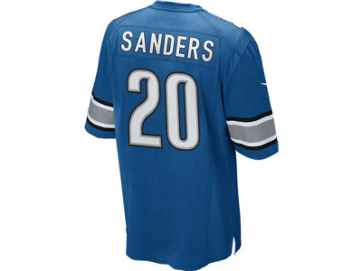 Detroit Lions Barry Sanders Nike NFL Retired Game Jersey