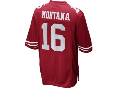San Francisco 49ers Joe Montana Nike NFL Retired Game Jersey