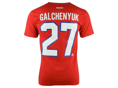 Montreal Canadiens Alex Galchenyuk Reebok NHL CN Player T-Shirt