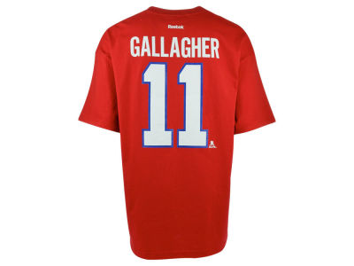 Montreal Canadiens Brendan Gallagher Reebok NHL CN Player T-Shirt