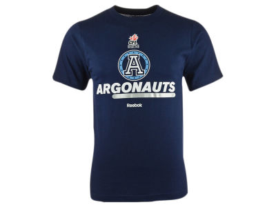 Toronto Argonauts Reebok CFL SL Name and Logo T-Shirt
