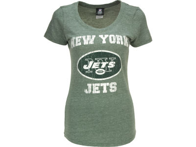 New York Jets 5th & Ocean NFL Tri-Natural Jersey T-Shirt